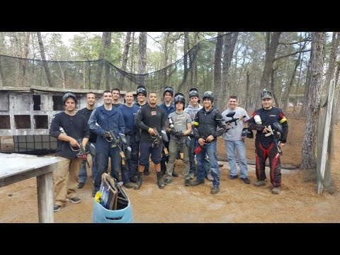 Coast Guard Station Manasquan Paintball Morale Event
