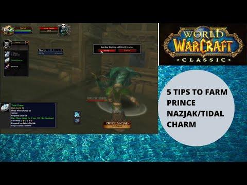 How To Farm Tidal Charm Prince Nazjak 5 Tips Youtube