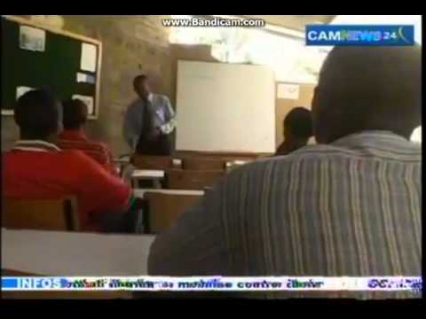 C A M   TV from Cameroon (Douala) in french language