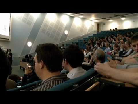 HD Live - Hull Digital 2010 @ Hull University Business School with Jon Moss