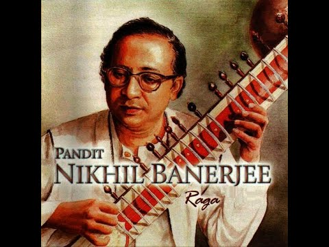 Raag Rageshree by Pandit Nikhil Banerjee and Pandit Anindo Chatterjee on Tabla