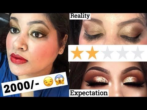 I WENT TO THE WORST REVIEWED MAKEUP ARTIST IN INDIA ( PUNE )