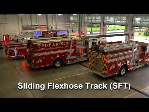 La Grange Fire & Rescue Chooses Sliding Flexhose Track System by MagneGrip