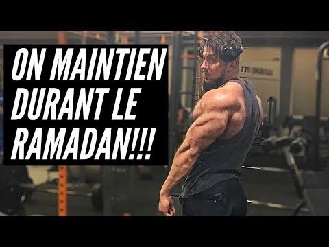 RAMADAN & MUSCULATION: Mon entrainement et ma nutrition!