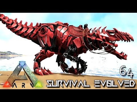 ARK: SURVIVAL EVOLVED - TEK GIGANOTOSAURUS TAME TEK GIGA !!! E64 (MODDED ARK EXTINCTION CORE)