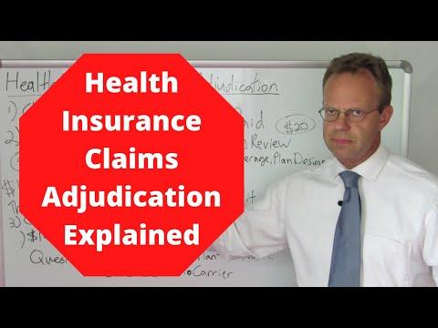 Health Insurance Claims Adjudication
