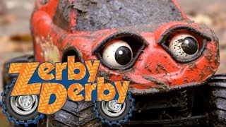 Zerby Derby  🚗  SPLASH FROM THE FAST  ☔  DIRTY ZERBY  🚚  PUDDLE TO DEEP   Season 2   Full Episodes