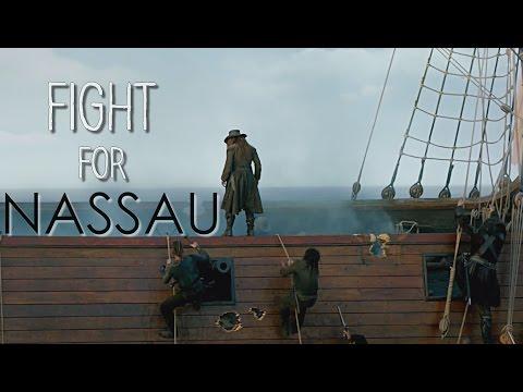Black Sails || Fight For Nassau