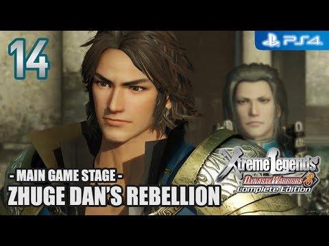 DW8XL Complete Edition 【PS4】 Jin Story #14 │ Zhuge Dan's Rebellion