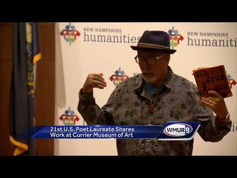Former U.S. poet laureate shares work at Currier Museum of Art