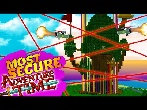 MOST SECURE ADVENTURE TIME TREEHOUSE EVER!