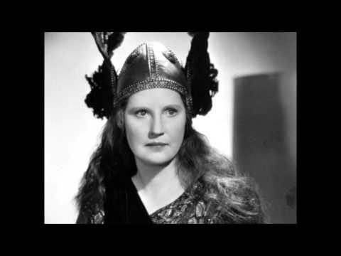 Wagner - Starke Scheite schichtet mir dort - Flagstad Philharmonia Furtwängler 1948