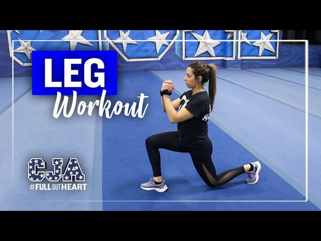 Leg Workout | Health & Fitness | At Home Training | CJA | Central Jersey Allstars