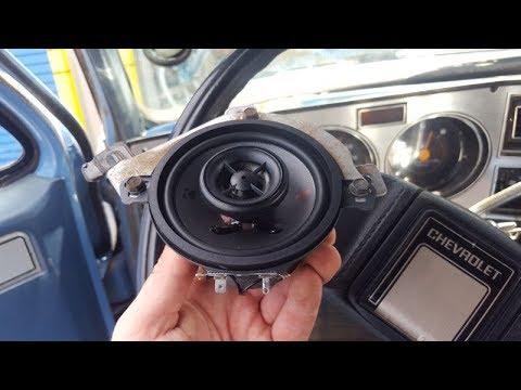 1973-87(9) Dash Speakers Chevy/GMC C/K: Kicker KSC350