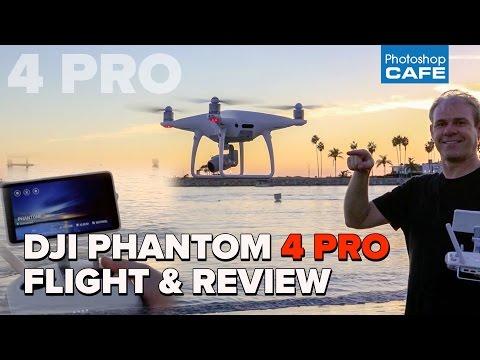 DJI Phantom 4 PRO review + FLIGHT test, low light camera test