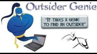 OUTSIDER GENIE PREVIEW VAAL 22 SEPTEMBER 2020