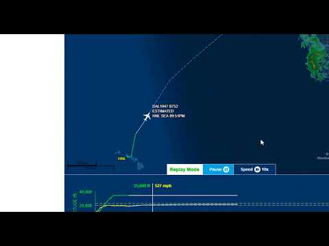 Monitoring HF transoceanic aircraft radio at 5547 kHz (plus live flight tracking)