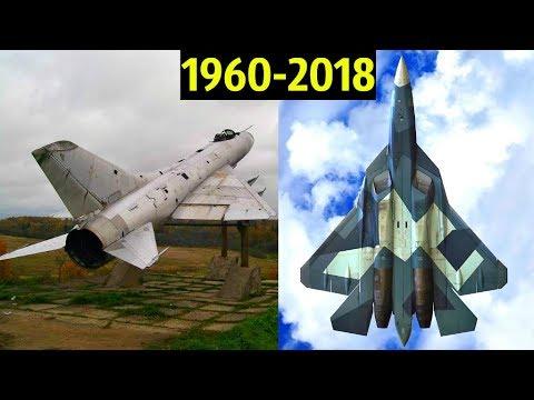 😵 Истребители Сухого - Эволюция от Су-9 до Су-57  💪!