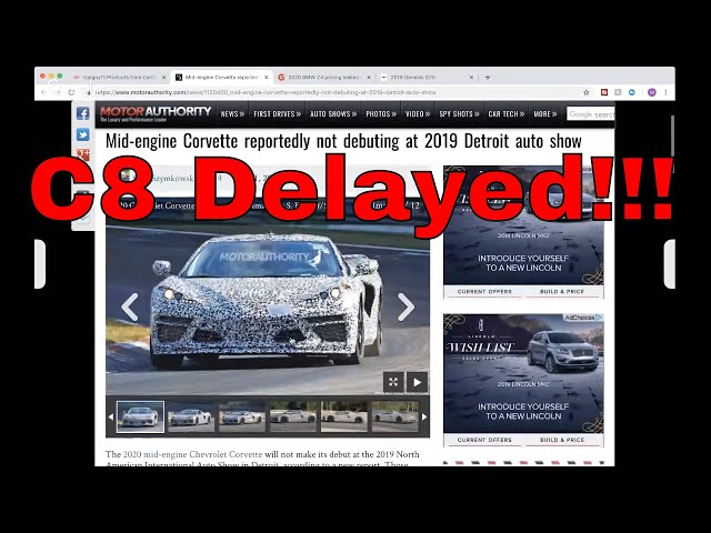 C8 Delay, Z4 Pricing, Genesis & More! - CarGuy11 Live