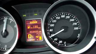 Stock EVO X MR SST 0-100 km/h.