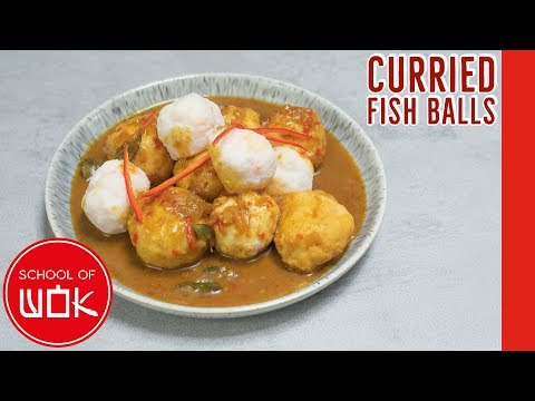 Hong Kong Style Fish Balls In Chinese Curry Sauce! | Wok Wednesdays
