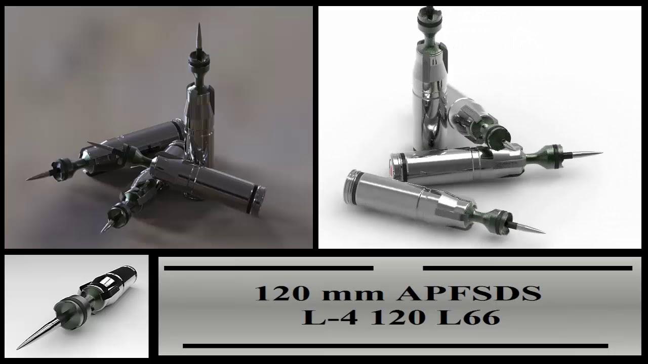APFSDS 120mm Anti Tank Ammo
