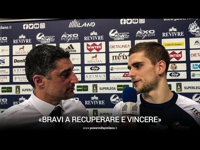 Superlega, l'intervista post Milano - Sora di Andrea Giani