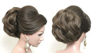 New Beautiful Hairstyle For Wedding, Party, Function. Latest Bridal Updo
