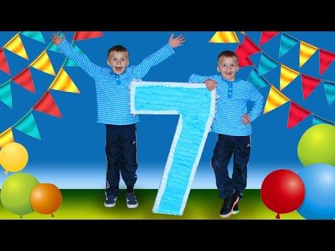 GIANT Birthday Piñata & Pizza Party
