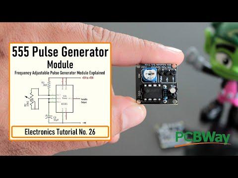 555 Pulse Generator Module, How it Works