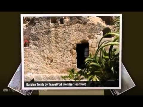 """Garden tomb and Mt. of Olives"" Leafmold's photos around Jerusalem, Israel (garden of gesename)"