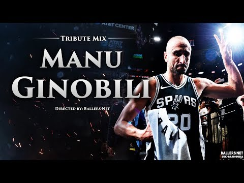 ececf0f6645 Manu Ginobili Emotional Tribute 2019 - San Antonio Spurs Legend ᴴᴰ ...