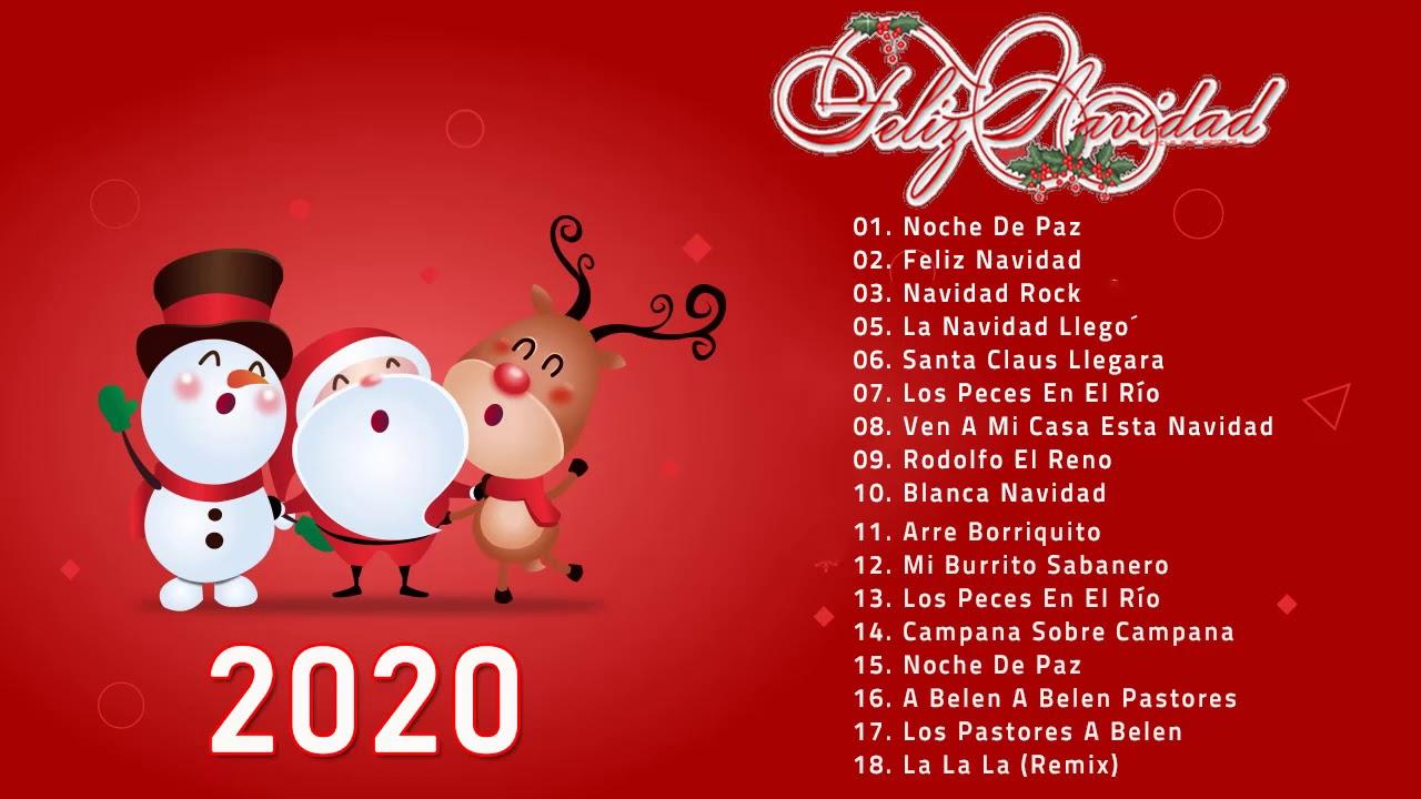 Las 20 Mejores Canciones Navideñas en ingles Feliz Navidad 2020 La Mejor Música de Navidad 2020