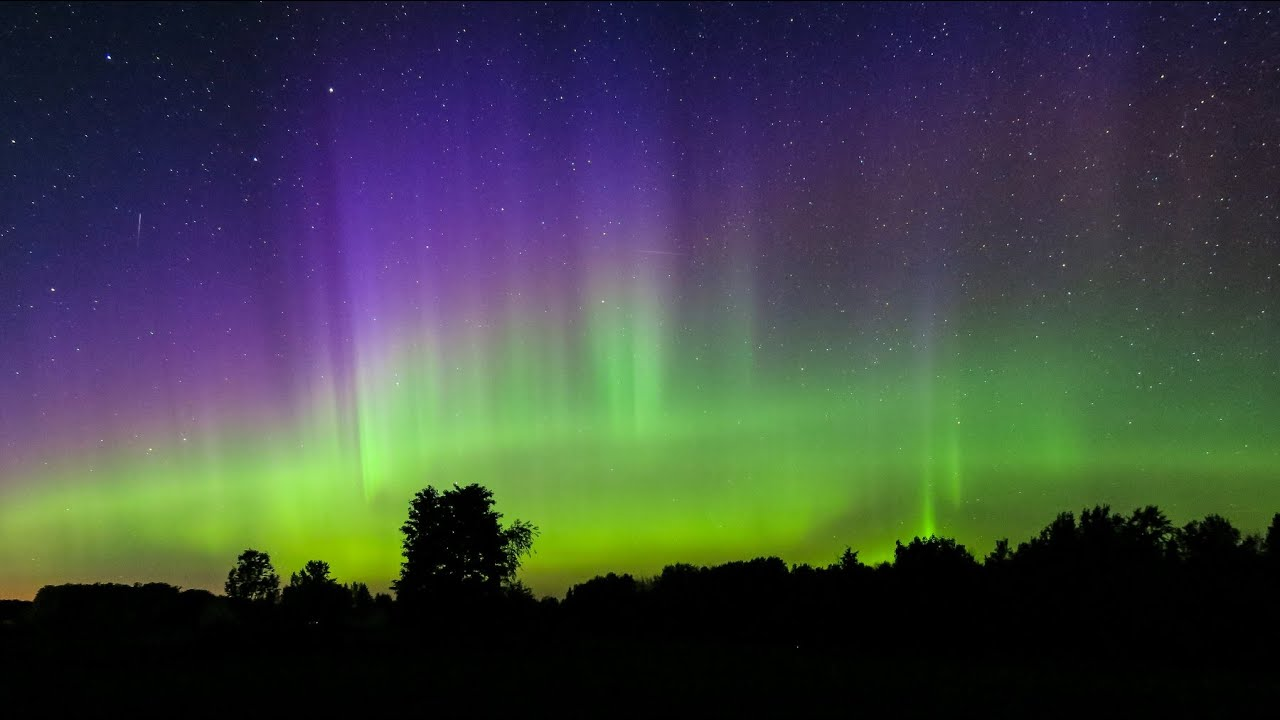 Can You See Northern Lights In Michigan Youtube