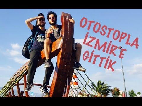 OTOSTOPLA İZMİR'E GİTTİK | İZMİR VLOG'U 1.GÜN