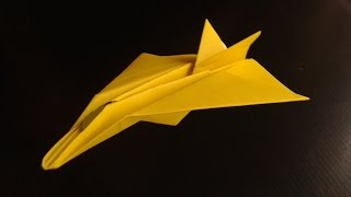 Jet Fighter F 15 Paper Plane Origami