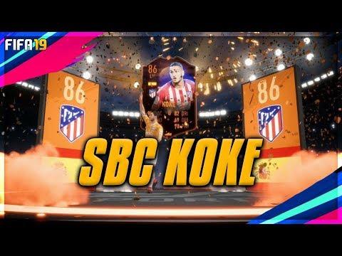 Resurreccion Koke SBC Completed - Cheaper Than FUTBIN - Fifa 19
