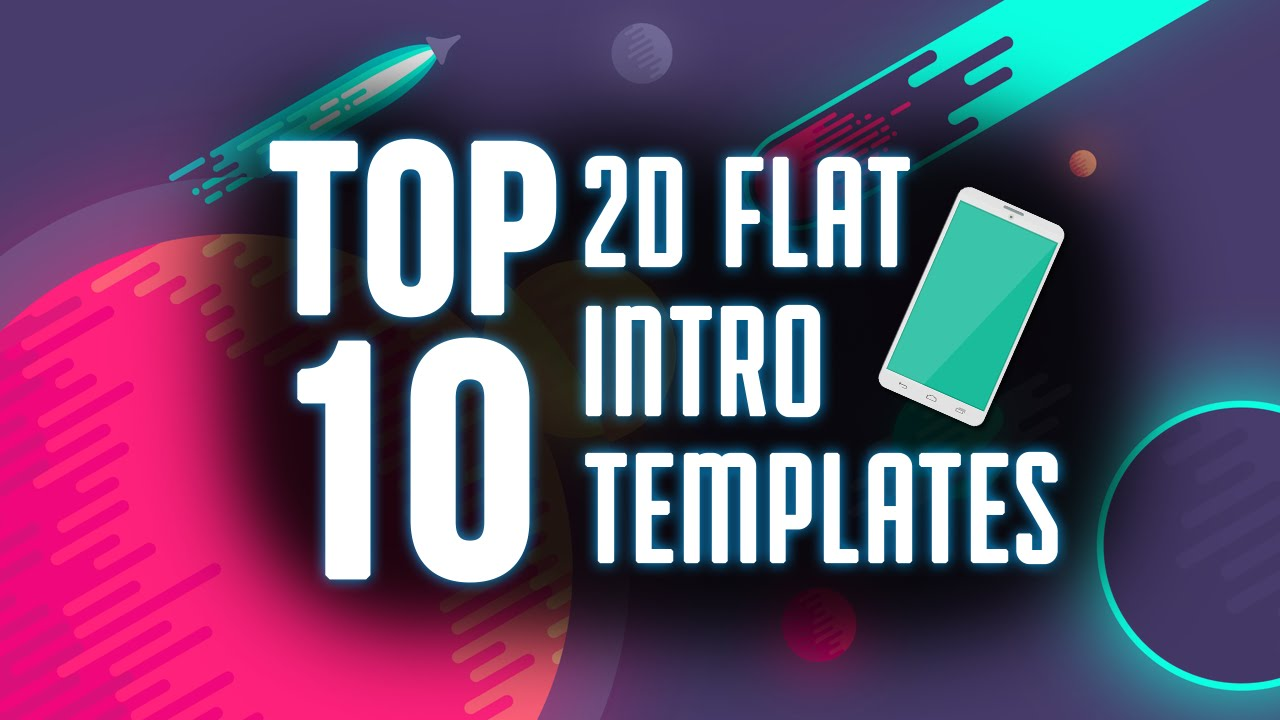 top 10 free 2d intro templates 2015