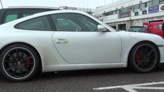 (HD) Porsche GT3: Acceleration's, Rev and Hard Drive-By's