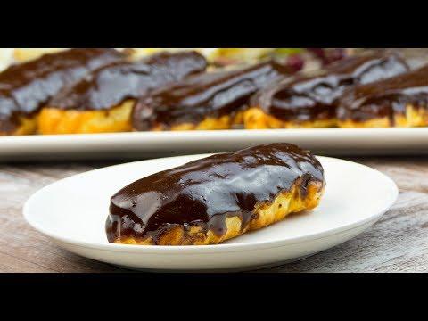 Glazura eclere ciocolata menaj