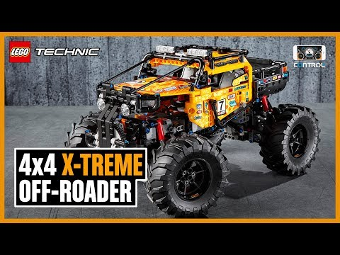 Discover the amazing app-controlled 4x4 X-treme Off-Roader! | LEGO Technic