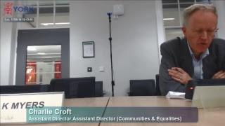 Children, Education & Communities Policy & Scrutiny Committee, 12 June 2018