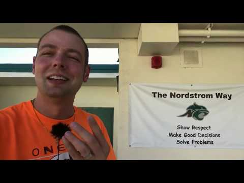 Mr. Peace Visits Nordstrom Elementary School in Morgan Hill, California