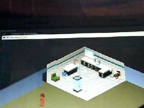 une salle de bain moderne habbo youtube. Black Bedroom Furniture Sets. Home Design Ideas