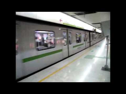 Riding the Shanghai Metro with 4 Kids!