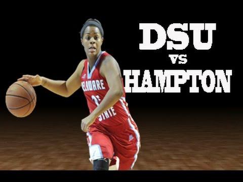 Lady Hornets vs Hampton University