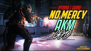 🔴PUBG MOBILE LIVE : NO MERCY AKM SPRAY | HYDRA GURU