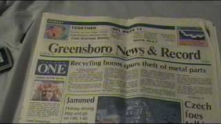 Newspaper from the Day I was Born! (November 27, 1989) Part 2