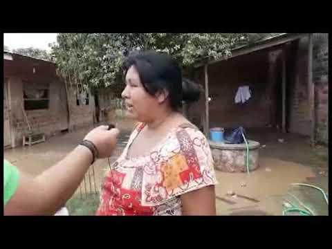 Inundaciones afectan barrios en Rurrenabaque