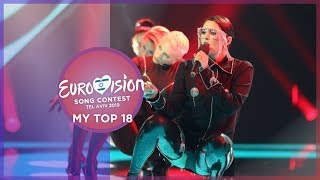 Eurovision 2019 - Top 18 (So far) 🇩🇰🇭🇺🇱🇹🇺🇦